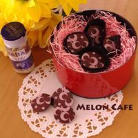 【スパイス大使】カルダモン風味の簡単シンプルチョコ(転写シートできれいな仕上がり)☆チョコを使ったバレンタイン
