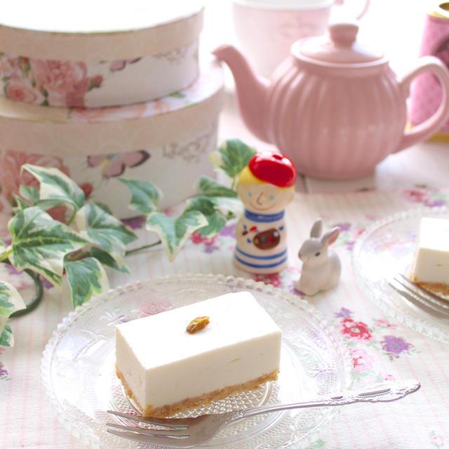 「西洋菓子しろたえ」のレアチーズケーキの再現レシピ♡