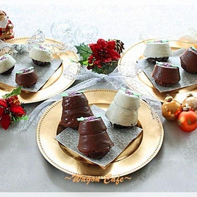 クリスマス☆ アップサイドダウン カップケーキ