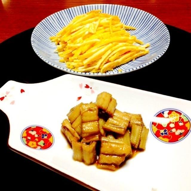 ひな祭りの準備☆あなごの煮つけ&錦糸たまご