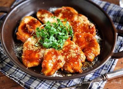 ♡チーズdeコクうま♡鶏むね肉のカレーソース♡【#簡単レシピ#時短#節約#コスパ】