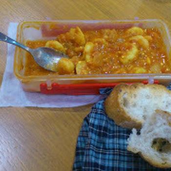 【5:2レシピ】エビとトマトのカレー