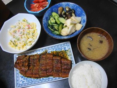 野菜メインの献立No.145 2011/7/21