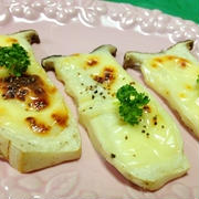 エリンギのチーズ焼き