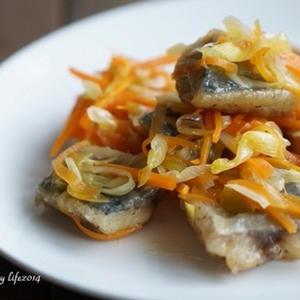 さっぱり食べられて、野菜も美味しい♪「鯵の南蛮漬け」レシピ