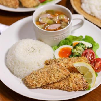 【鮭】子ども大好き☆鮭のマヨパン粉焼き
