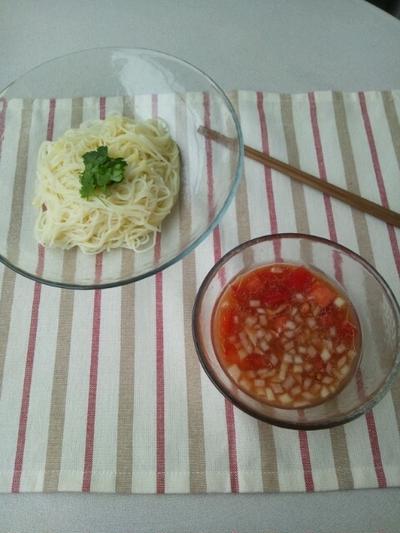 イタリアンつけ素麺