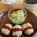 ポテトサラダのリメイクおかず☆節約食材集合の簡単献立【1週間2500円ごはん】