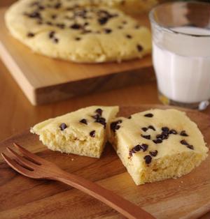 ホットケーキミックスの超簡単チョコ蒸しパン