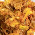 ラム肉とキャベツのタジン