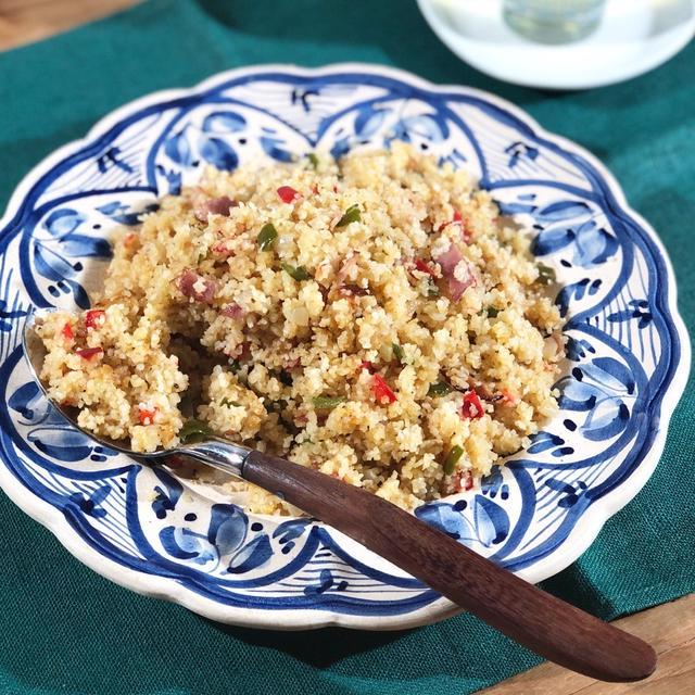 挽き割り小麦のピラフ「ベーコンと野菜のブルグル・ピラウ」 #KALDI #TVで紹介レシピ