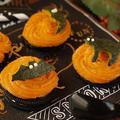 オレオで作るハロウィンスイーツ★かぼちゃのモンブラン
