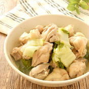 鶏肉と白菜の煮込み