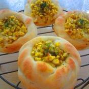 ガラムマサラマヨコーンパン