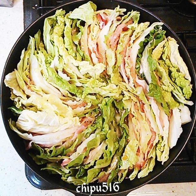簡単 やみつき止まらない白菜と豚肉のミルフィーユ鍋