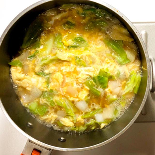 キャベツの甘み引き出す♪中華スープ