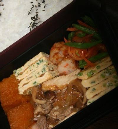 11月23日  厚揚げと豚肉の オイスターソース炒め弁当