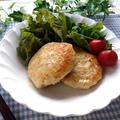 節約料理♪厚揚げで量増し!ヤマキ お塩ひかえめめんつゆ de 厚揚げと鶏ひき肉のハンバーグ