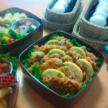 【重箱弁当】2015年✻小学校運動会のお弁当