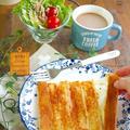 これは画期的!食パン1枚で作れる『ちぎれるパニーニ』作っちゃいました♪