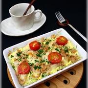 朝ごはんに!ツナ&キャベツのチーズ焼き