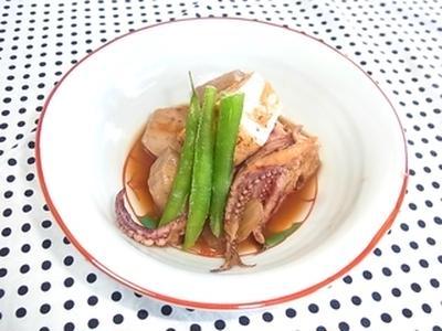 ★里芋、いか、焼き豆腐の柔らかキムチ煮★