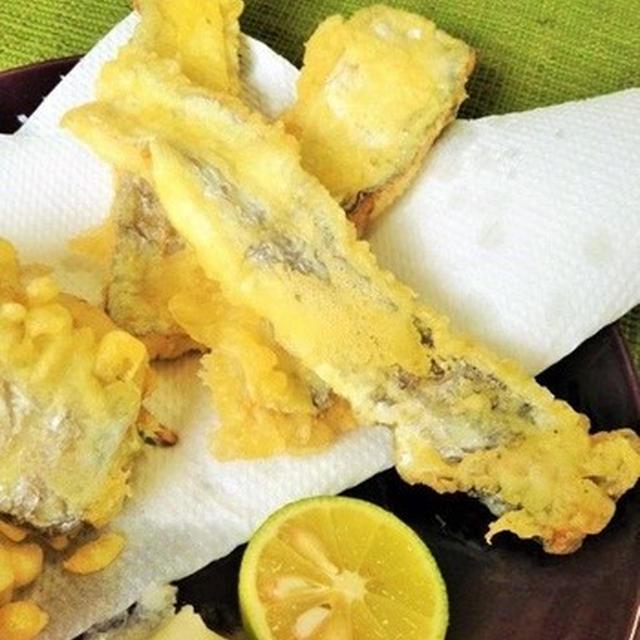 太刀魚の天ぷら