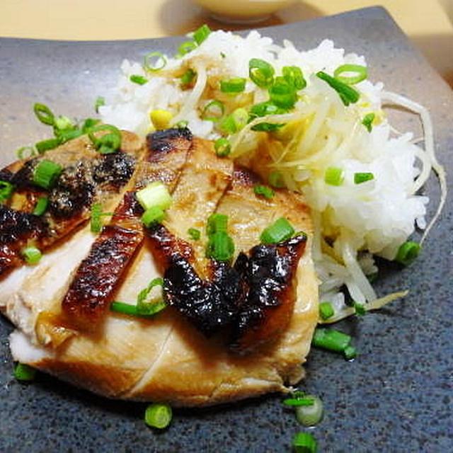 元気になりました♪&11/22の晩御飯 鶏胸生姜焼き、豆もやしご飯、サラダ温奴。