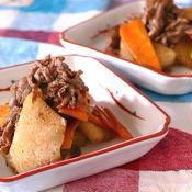 冬瓜と牛肉のマサラ炒め