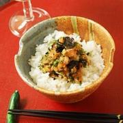 鮭とクレソンの刻み丼 by エリオットゆかりさん