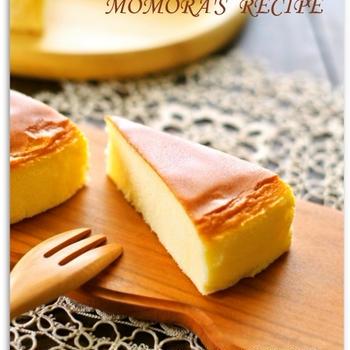 クリームチーズ・オイル不要♪ホットケーキミックスで簡単お菓子♡さつまいもチーズケーキ