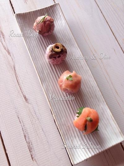洋風な『手まり寿司』