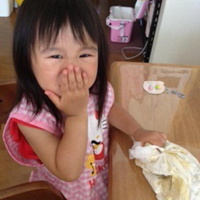2歳8カ月とバナナクッキー