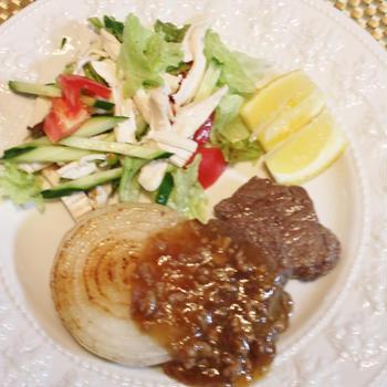 体に良いステーキ ♪