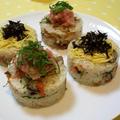 ひな祭りみたいな???ちらし寿司で夕ご飯^^ by shioriさん