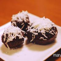 [レシピ]サクッフワッ♪チョコcocoドーナッツ
