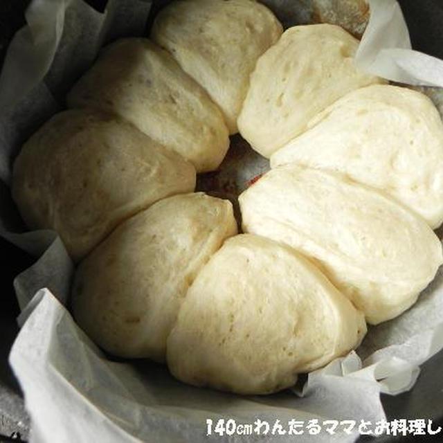 アウトドアで簡単★ふわふわポリ袋パン