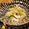 イカときゅうりの生姜風味和え物