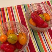 カラフルミニトマトのサラダ*クミン風味ドレッシングで