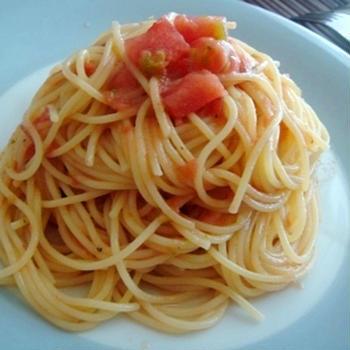 フルーツトマトのシャーベットカッペリーニ