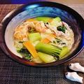 食欲ないで献立変更☆炒め野菜ラーメン風にゅう麺♪ by みなづきさん