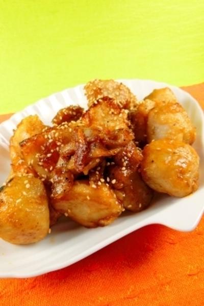 里芋がビックリするくらい美味しく沢山食べれるレシピ