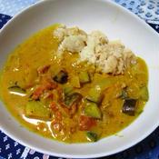 ココナッツ野菜カレー