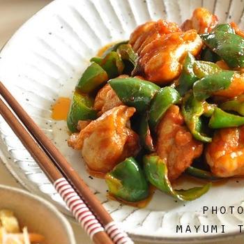 ピリ辛!鶏肉の韓国風炒め