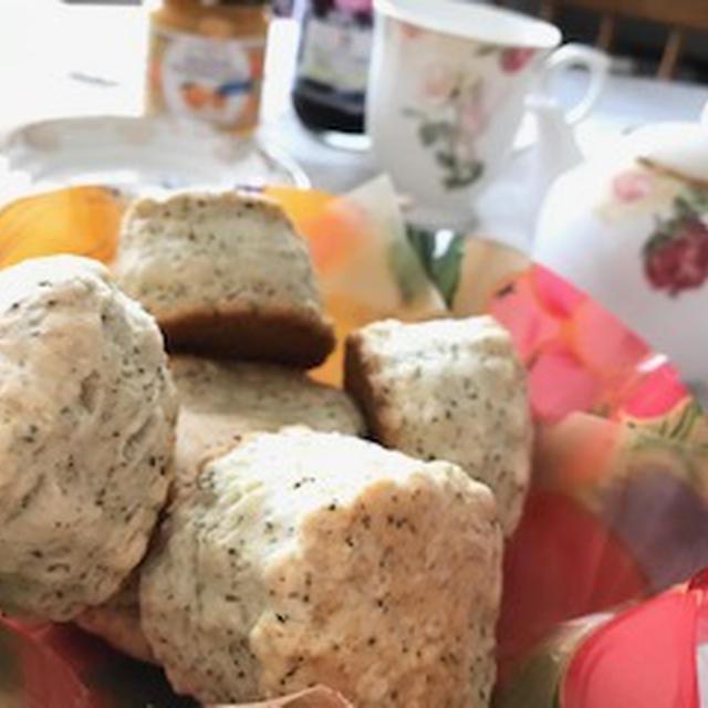 HMで紅茶のスコーン♬