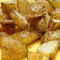 【レシピ・動画】新じゃがのオーブン焼き🥔ローズマリーの風味たっぷり。カリカリ、ふっくら。オーブンに働かせよう