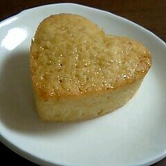 きのうのおやつ  しょうがのバターケーキ