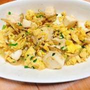 ふわふわ卵と豆腐の中華風炒め