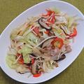 シンプルな肉野菜炒め