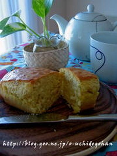 ジンジャーシロップの生姜を使って『ジンジャーケーキ』